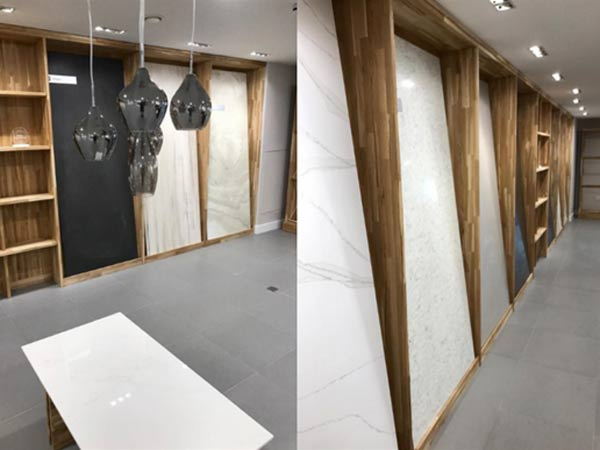 Showroom fitout layout