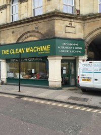 The Clean Machine, Silver Street, Trowbridge - dilapidations - before