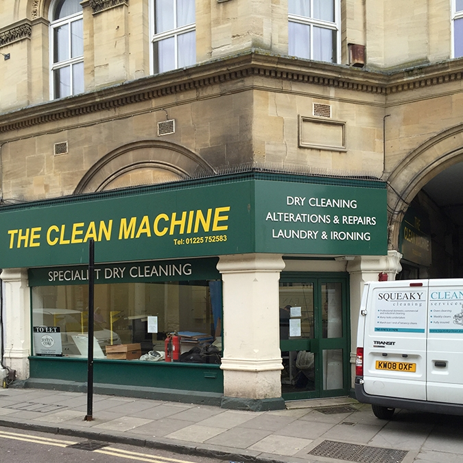 The Clean Machine, Silver Street, Trowbridge - dilapidations